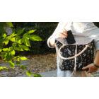Könnyű, divatos női táska hangjegyekkel