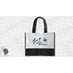 Bevásárló táska - Fehér, Music & Arts