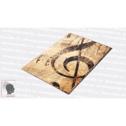 Felírótábla - A4+ Elegáns violinkulcsos