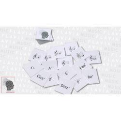 Memóriajáték - ABC-s hangok - nevek