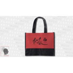 Bevásárló táska - Piros, Music & Arts