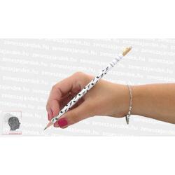 Hangjegyes ceruza fehér