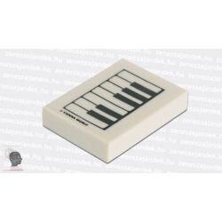 Zongorabillentyűs radír