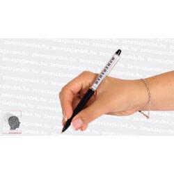 Zenei motívumos toll
