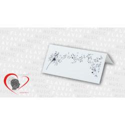 Ültetőkártya - szálló hangjegyekkel