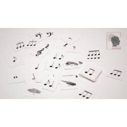 Memóriajáték - Zenei írásjelek, ritmusok