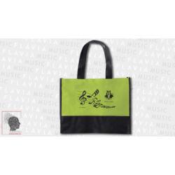Bevásárló táska - Zöld, Music & Arts