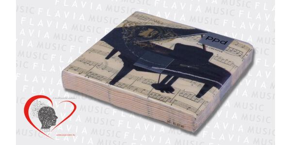 Szalvéta - zongorás (20 db/csom)