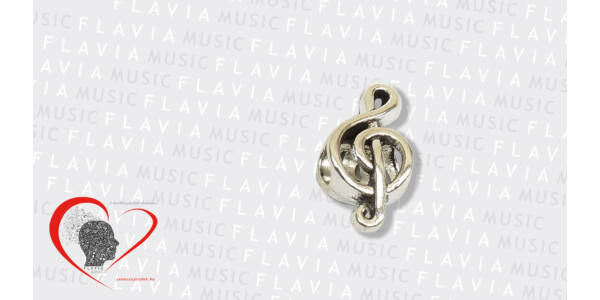 Charm - Violinkulcs 3D