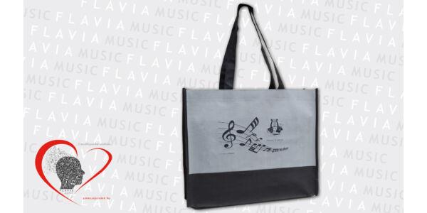 Bevásárló táska - Szürke,  Music & Arts