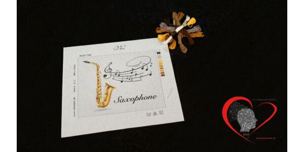 Saxophone -tűgobelin szett