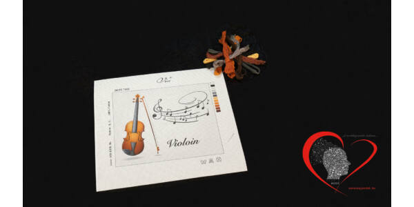 Violin -tűgobelin szett
