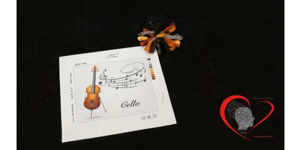 Cello -tűgobelin szett