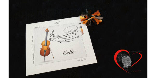 Cello -tűgobelin szett