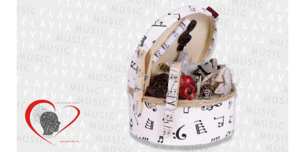 Asztaldísz - karácsonyi dallamos ünnepi hangulathoz