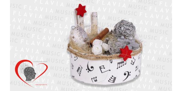Asztaldísz - karácsonyi ünnepi hangulathoz