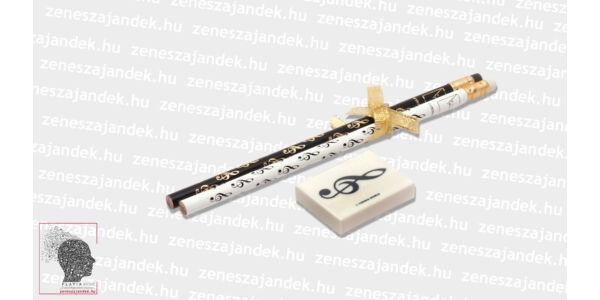 Ajándékcsomag - violinkulcsos írószerek
