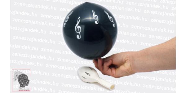 Violinkulcsos lufi - fekete