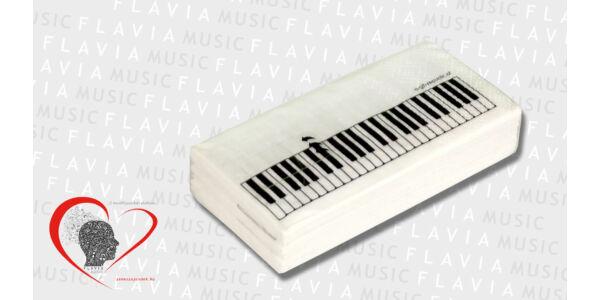 Papír zsebkendő - zongorabillentyűs
